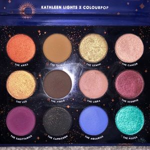 Colourpop x kathleen lights The Zodiac Palette